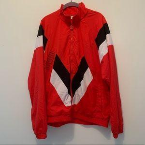 Puma red track jacket